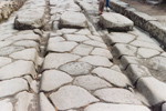 Chariot Tracks in Pompeii